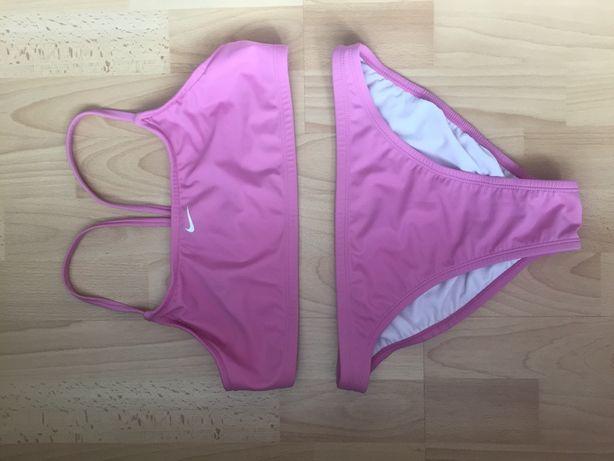 Kostium kąpielowy NIKE SWIM różowy dwuczęściowy z USA