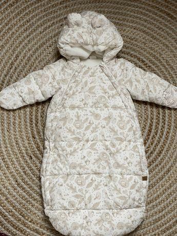 Śpiworek kombinezon zimowy H&M r. 62-68 (2-6m)