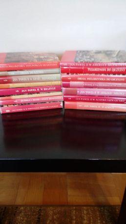 Jan Paweł II, zestaw książek o pielgrzymkach papieża