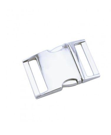 """Фастекс металевий, сріблястий, фурнитура 3/4"""""""