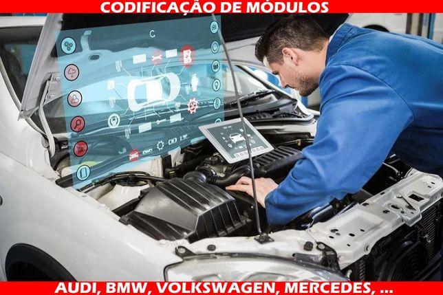Codificação de Módulos AUDI, Volkswagen, Seat, BMW, Mercedes