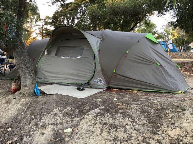 Tenda Campismo Quechua Seconds Family 4.2 XL sempre muito bem estimada