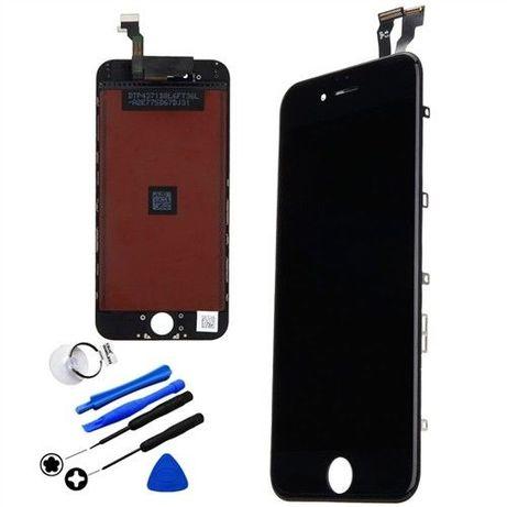 Ecrã LCD display touch iPhone 6 6s 7 8 X 11 xr xs Plus Preto / Branco