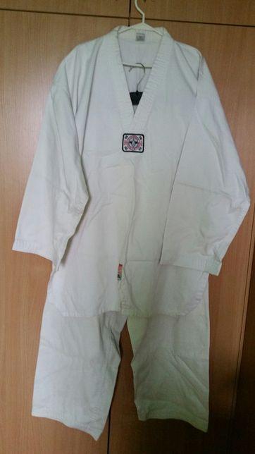 Dobok do taekwondo 190cm wysoka jakość