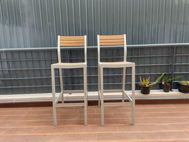 2x bancos altos IKEA SJALLAND