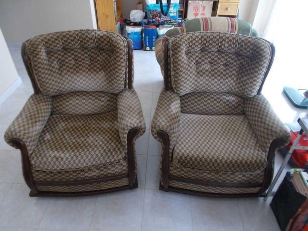 Conjunto de 2 sofás individuais