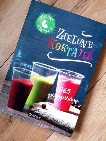 Zielone Koktajle książka zdrowie dieta przepisy