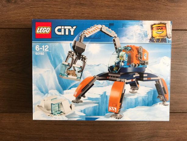 LEGO City 60192 Arktyczny łazik lodowy - NOWE