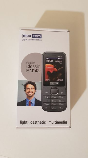 Telefon MAXCOM MM142 DLA Seniora Babci