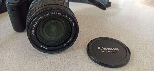 Canon EF-S 15-85mm 1:3.5-5.6 IS USM, чудовий стан