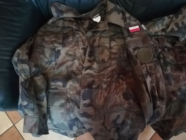 Używane wojskowe koszule letnie na długi i krótki rękaw