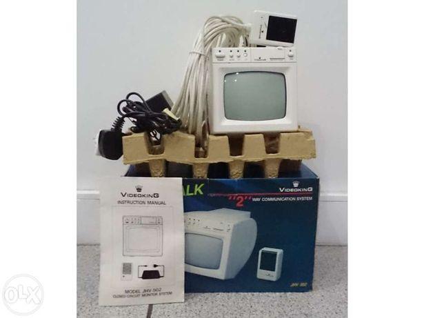 Sistema de monitor de circuito fechado videoking jhv-502 novo
