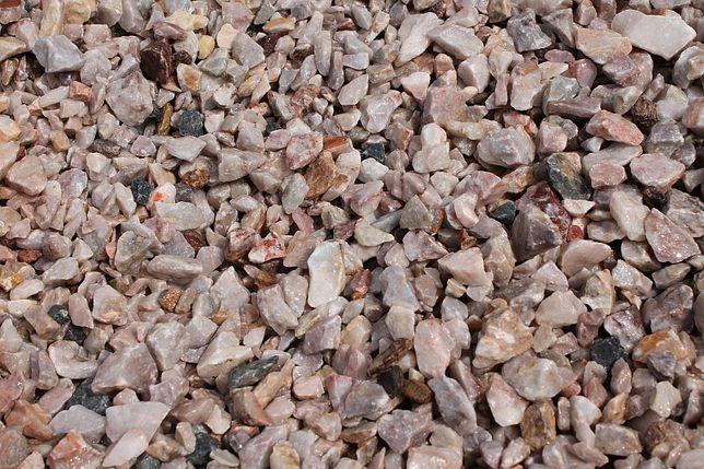 Grys różowy 8/16 mm, jasny grys, kamień do ogrodu