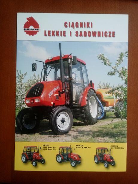 Prospekt URSUS 3502 do kolekcji lekkie i sadownicze