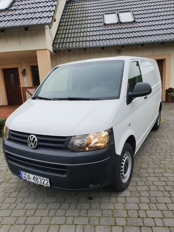Volkswagen Transporter T5 2.0 TDI 102 KM Stan IDEALNY I rej.23.12.2014