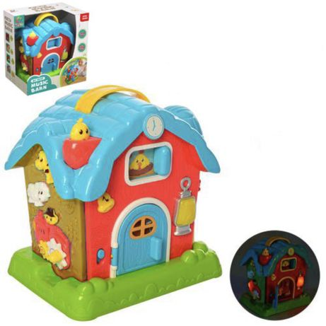 Домик музыкальные игрушки дом со светом