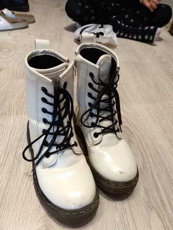Buty dziewczęce wysokie wiosna, jesień rozmiar 29
