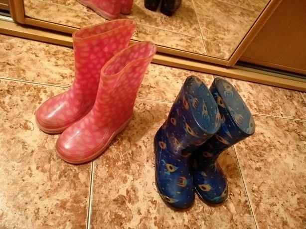 Резиновые сапоги, гумові чоботи. 35 гривен