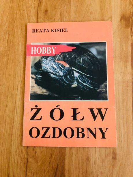 Książka Żółw ozdobny w naszym domu Beata Kisiel