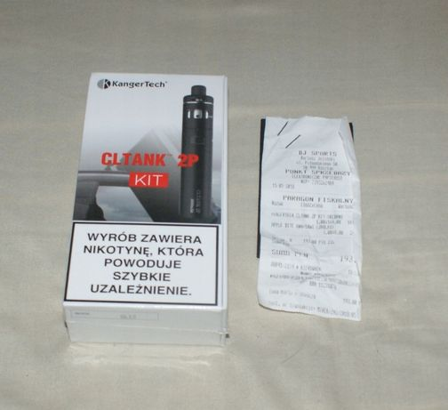 Pudełko po E-papierosie, pudełko po papieros elektroniczny CLTANK 2P