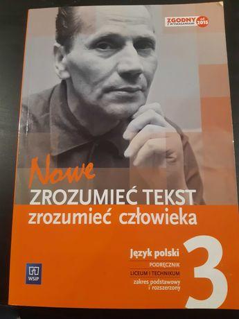 """Podręcznik do języka polskiego """"zrozumieć tekst"""" cz.3"""
