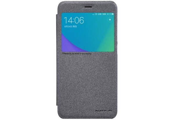 Чехол Nillkin Sparkle Leather Black для Xiaomi Note 5A. НОВЫЙ