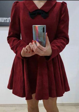 Sukienka z kokardką