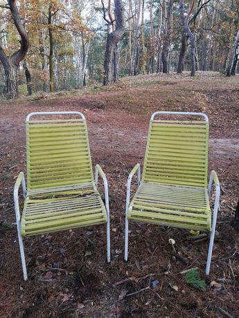 Dwa fotele żyłkowe - lata 60-te.