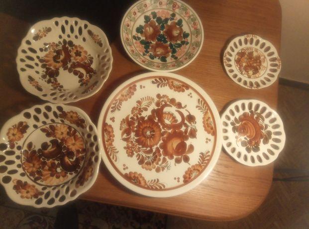 Talerze Włocławek, fajans, porcelana Włocławek