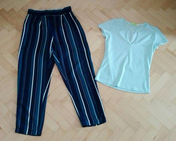 Zestaw S 36 House spodnie letnie bluzeczka niebieska