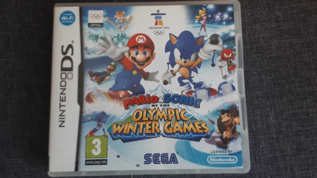 Mario and Sonic Olympic at the Games Nintendo DS