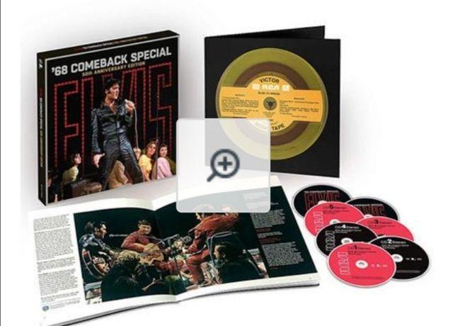 Elvis: '68 Comeback Special: 50Th Anniversary Edition 5 CD 2 blu ray