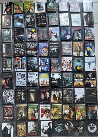 Filmy DVD NOWOSCI !! Mega Filmy 80 sztuk !
