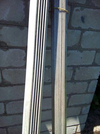 Уголок алюминиевый 50×50 мм.