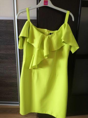 Nowa sliczna sukienka rozmiar 38 na wesele chrzciny itd