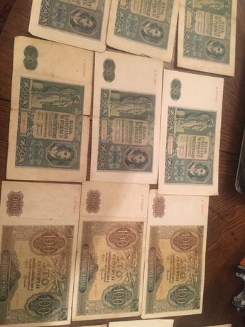 Banknoty przedwojenne polskie