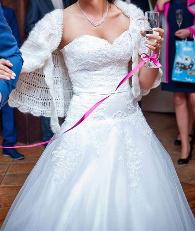 Suknia ślubna rozm.S-M 164- 174