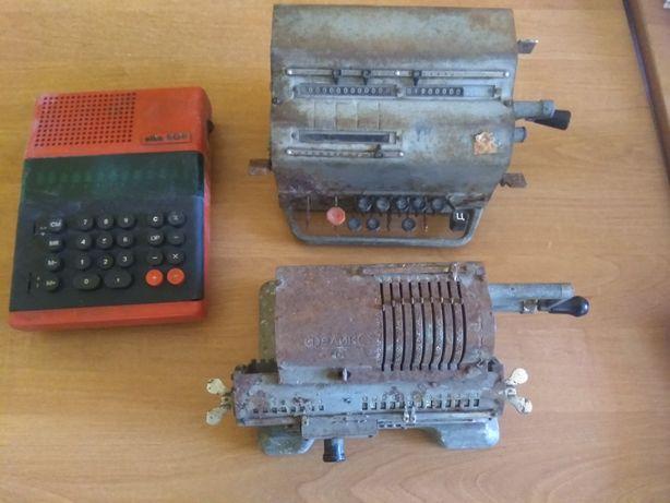 Арифмометр,калькулятор,счетная машина ВК-1