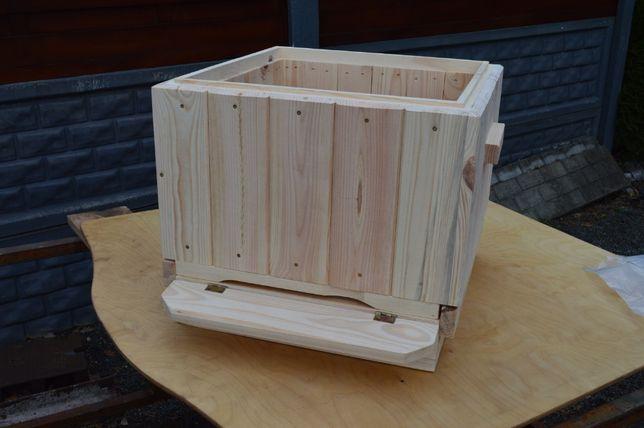 ule wielkopolskie ocieplane 10 ramkowe, ul wielkopolski ,z drewna