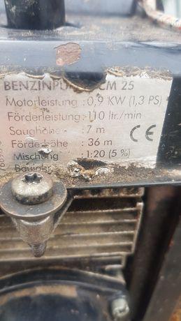 Pompa wody spalinowa