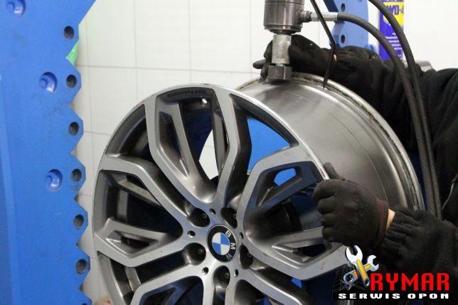 Prostowanie felg aluminiowych - naprawa oraz spawanie felg