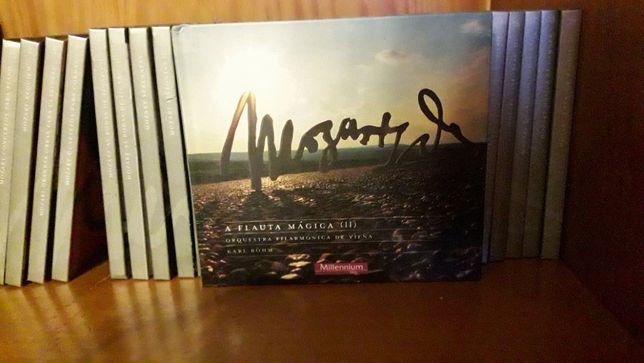 Obra total CDS Mozart com livro