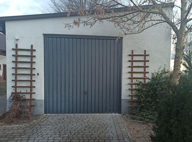 Brama garażowa 250x245cm Solidna, firmy BRAMPOL