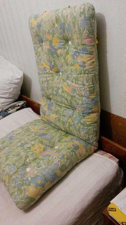 Матрац 120×50 см.  для шезлонга,  пляжного стула.