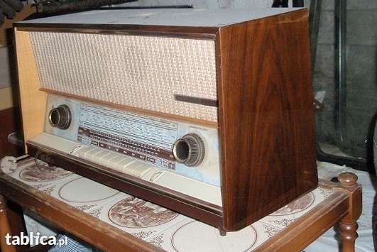 Radio GRUNDIG- pierwsze egzemplarze