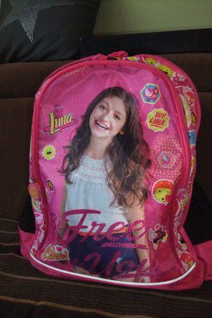 Plecak szkolny Soy Luna. Jak nowy. Polecam