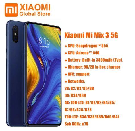 Xiaomi Mi Mix 3 5g смартфон 6/64