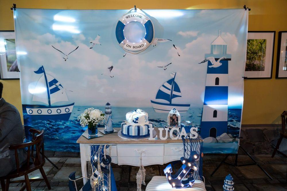 Cenário para decoração de festas comemorativas Santana - imagem 1