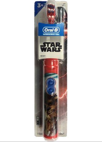 Щетка ЧУБАККА Детская электрическая зубная щетка Звездные Войны