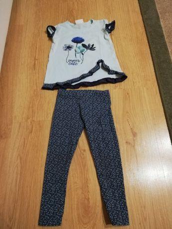Komplet Coccodrillo 98 /104 bluzka /koszulka, leginsy